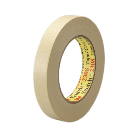 3M[TM] Scotch[R] 2308 Masking Tape - 24 mm x 55 m