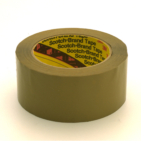 3M 375 Scotch[R] Superior Performance Box Sealing-72mm x 50m