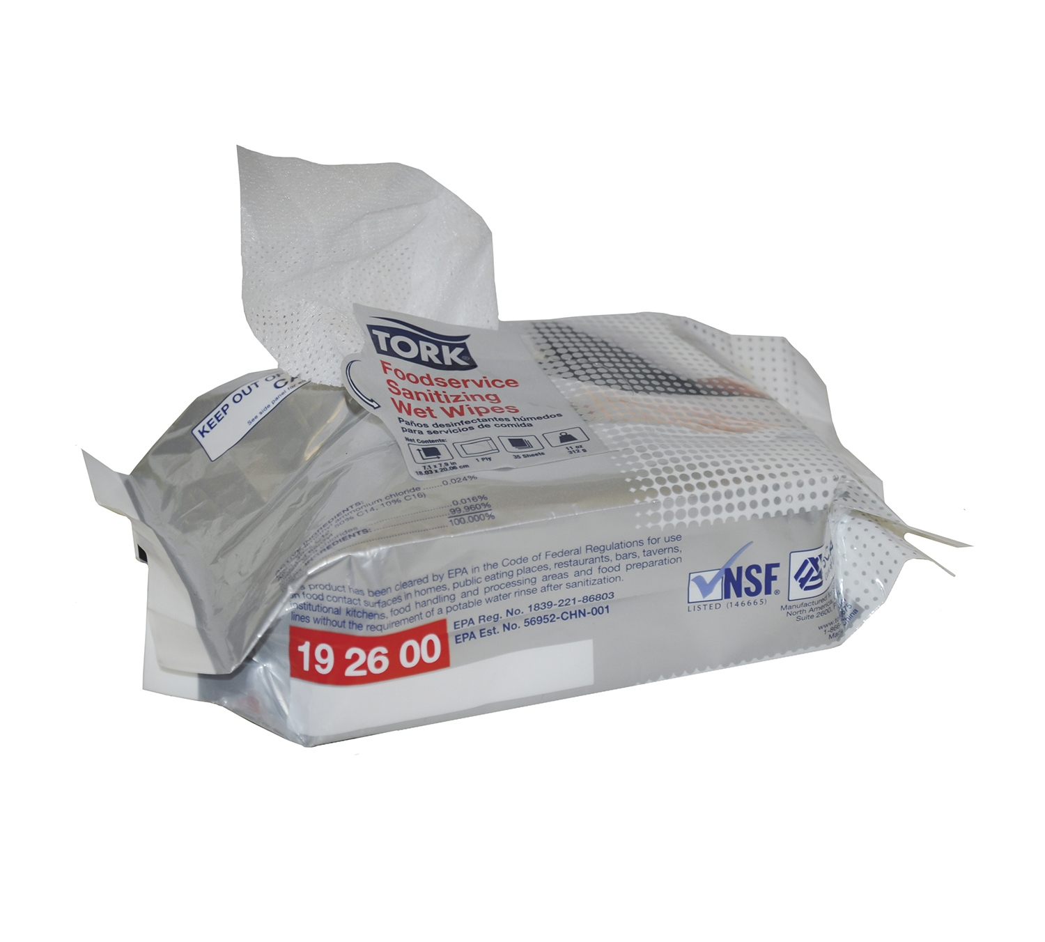 192600 TORK FS SANIT WIPES 700
