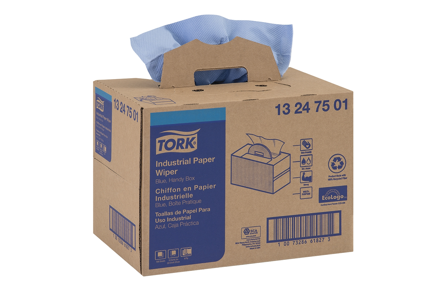 13247501 TORK MP WIPER BLU 180