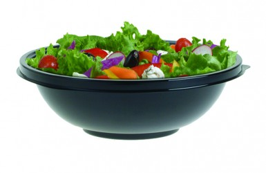 92032T300 32OZ BLK BOWL 300