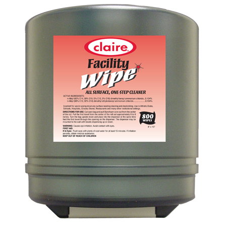 Claire[R] Center Pull Dispenser For C-910 Facility Wipes