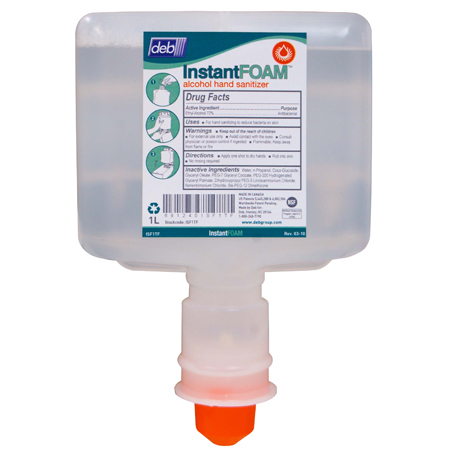 Deb TFII InstantFOAM[R] Hand Sanitizer - 1200 mL Cart.