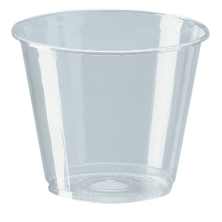 Dixie[R] Squat Clear Cup - 9 oz.