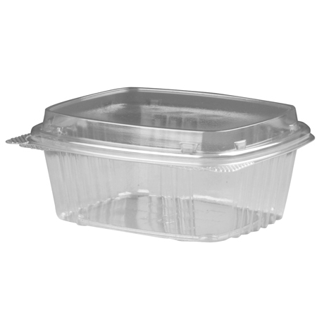 Genpak[R] High Dome Lid, Clear Deli Container - 12 oz.