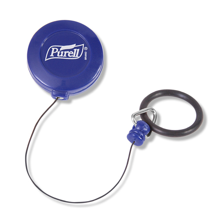 GOJO[R] Purell[R] Personal Retractable Clip w/Bottle Collar