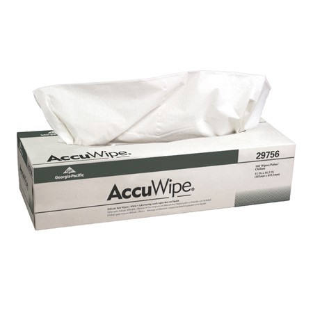 GP AccuWipe[R] Recycled 1 Ply Delicate Task Wiper -15