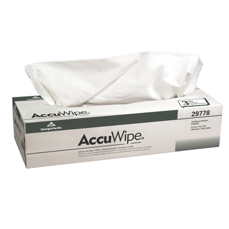 GP AccuWipe[R] Recycled 3 Ply Delicate Task Wiper -15