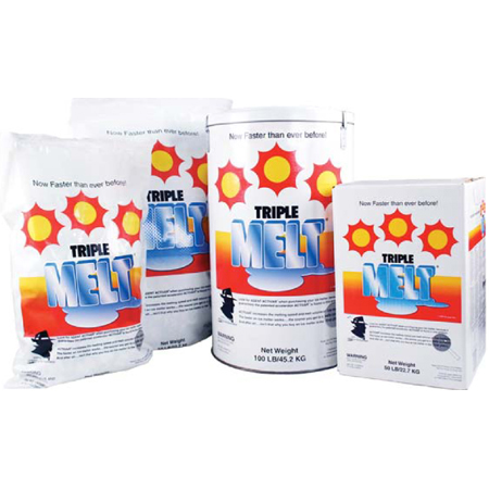 Ossian Triple Melt[R] Ice Melter - 20# Bag