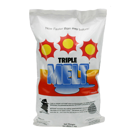 Ossian Triple Melt[R] Ice Melter - 50# Bag
