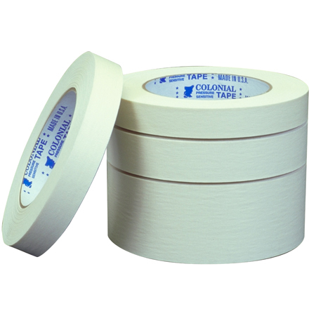 Shurtape[R] Colonial Natural Industrial Crepe - 18 mm x 55 m