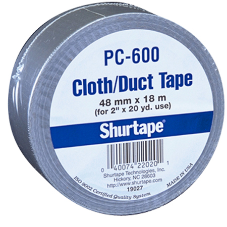 Shurtape[R] PC600 General Purpose Cloth Duct - 48mm x 55m